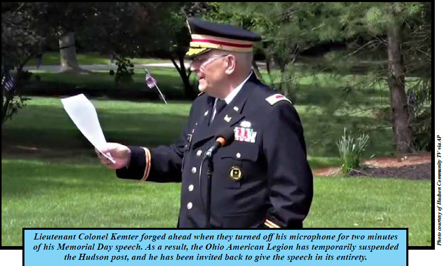 All Things Soldier: A Muzzled Memorial Day